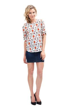 Baykuş Desen Bluz  24,99 TL TL