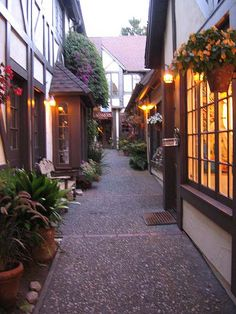 Carmel, CA Great place to shop for art.