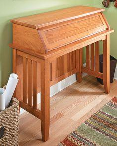 Computer Desk Woodworking Plan - Take a Closer Look