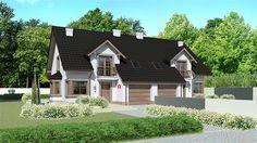 projekt Dom przy Amarantowej 5 KRK1410