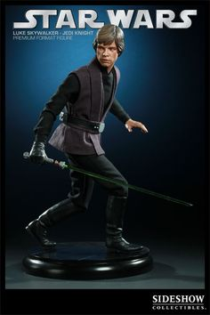 Luke Skywalker - hot toys luke doll. Well, technically not a doll, but a cool figurine anyway. :P