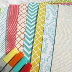 Free digital patterned paper