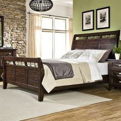 Imagio Home Haven Sleigh Bed