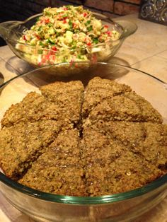 Comida árabe. Kipe charola al horno