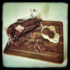 Chorizo de carne de potro Hispanobretón ...de Burgos, claro!