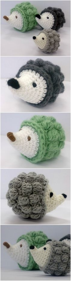 Easy Crochet Hedgehog Free Pattern {Video} | The WHOot