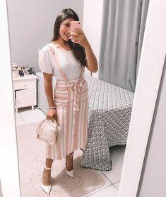 65 Trendy Ideas For Fashion Modest Christian Cute Outfits Modest Outfits, Skirt Outfits, Casual Outfits, Cute Fashion, Girl Fashion, Fashion Outfits, Pretty Outfits, Cute Outfits, Pentecostal Outfits