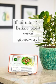 Enter for a chance to win a brand new iPad mini 4 + tablet stand!! Ohsheglows.com