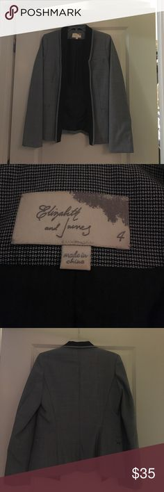 Elizabeth and James blazer NWOT Great staple. Never been worn. Elizabeth and James Jackets & Coats Blazers