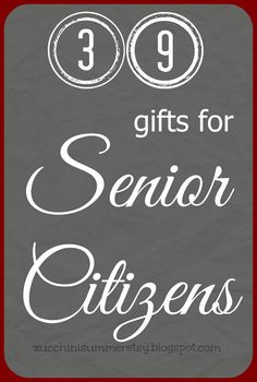 ever wonder what to get for someone with a little more life experience here are 39 gift ideas for senior citizens