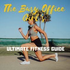 Try the no equipment kick up the backside fitness guide for busy professionals