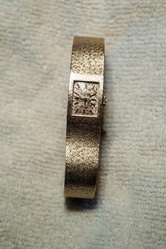 Omega Vintage 14k oro donna orologio da polso di PookasToybox