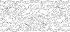 how to draw lace patterns - Penelusuran Google