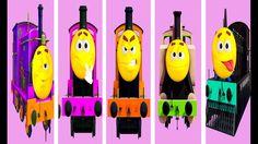 Train Finger Family | Part 3 | Steam Engine | Nursery Rhyme | My Kids So...