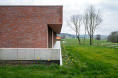 Villas, Concrete Sculpture, Brick Design, Brickwork, Home Look, Ground Floor, Terrace, Entrance, Backdrops