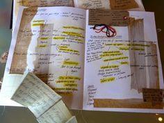 Mind Maps & Sketchbooks textile Workshops at The Purple Thread Shed, near Edinburgh