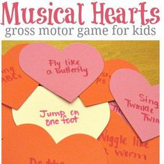 musical hearts party game