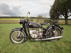 R50 BMW / my vintage 1955 bike