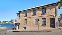 Balmain East's first pub, the Shipwrights Arms Hotel, Sydney. A sandstone beauty.