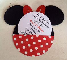 Handgemachte benutzerdefinierte rot Minnie Maus von whimzycreations, $25.00