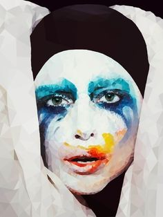 "Lady GaGa ""The Applause"" by Me  Drawing Made on iPad in Sketchbook Pro"