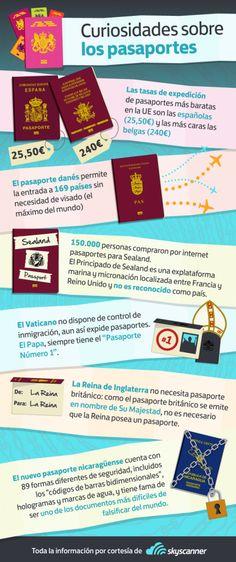 curiosidades sobre pasaportes - Infografías