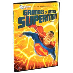 DVD Grandes Astros Superman #Superman #bandUPStore #AllStarSuperman #LojaDCComics