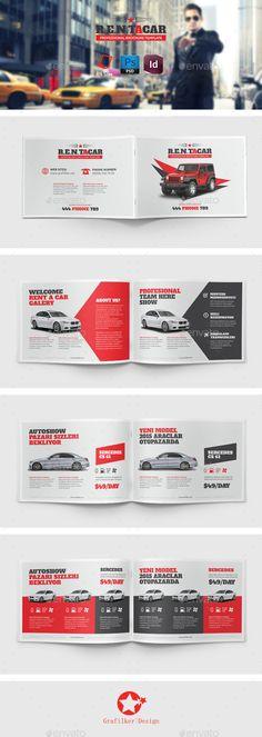 Rent A Car Brochure Templates Brochure Template Brochures And Renting