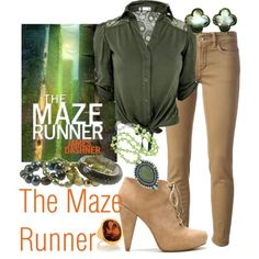 WHO WEARS FRIGGING HEELS IN THE MAZE RUNNER???!!!  WHY AM I SURROUNDED BY IDIOTS?