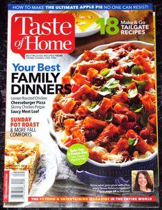 Taste Of Home Magazine  September/October 2016   (No Label)