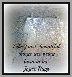 frost, Joyce Rupp, healthy spirituality