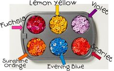 Need a specific color of button for a craft project?  Did you know you can dye buttons? Yeah you can