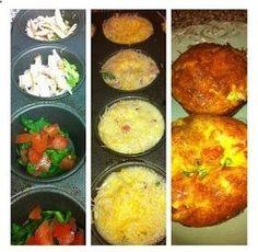 Ginas Favorites: Egg Muffins (Recipe 2) .