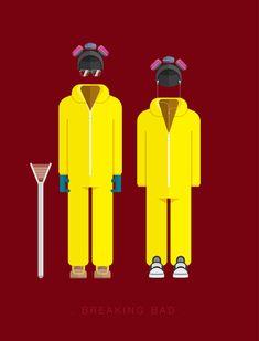 Ilustraçoes baseadas nos figurinos de séries e filmes famosos ;D http://www.bluebus.com.br/ilustracoes-baseadas-nos-figurinos-de-series-e-filmes-famosos-d/