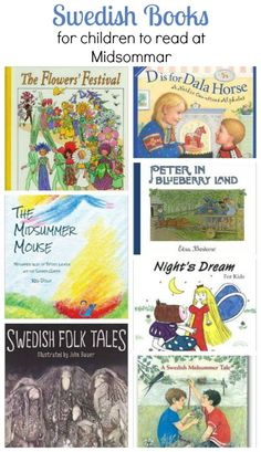 We've rounded up a collection of Swedish books children will enjoy reading to celebrate Midsommar. Kids Around The World, Around The Worlds, Horse Flowers, Wreath Crafts, What To Read, After School, Book Recommendations, Learning Activities, Book Worms