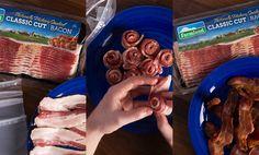 Farmland Bacon Club - bacon hack: frozen bacon never tasted this good