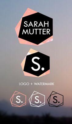 Personal Branding Design by Sarah Mutter, via Behance