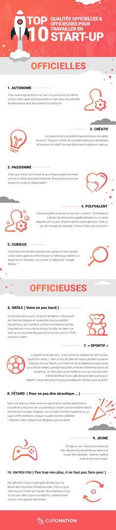 top 10 qualites startup