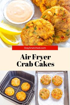 These Easy Air Fryer Fifteen Minute Crab Cakes are so quick to make! If you are a fan of Maryland jumbo lump crab cakes, you will love this recipe! Freeze these for later and reheat them easily from frozen. Air Fry Recipes, Cooking Recipes, Healthy Recipes, Old Bay Crab Cakes, Air Fryer Healthy, Quick Easy Meals, Freeze, Maryland, Food Inspiration
