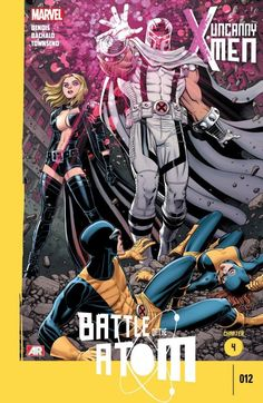 Uncanny X-Men Vol. 3 #12 #Marvel #UncannyX-Men (Cover Artist: Chris Bachalo) On Sale: 9/18/2013