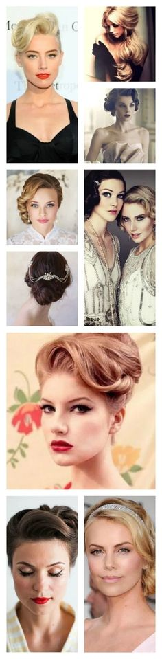 peinados vintage para bodas Baile Charleston, Hair, Character, Style, Types Of Hairstyles, Wedding Hair Styles, Wedding Gowns, Vintage Hairstyles, Medium