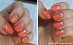 One of my favorite manicures from 2016. that I didn't get the chance to post earlier, this i...