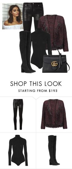 """""""2017/57"""" by dimceandovski ❤ liked on Polyvore featuring Alyx, Maje, Theory, Yves Saint Laurent and Gucci"""