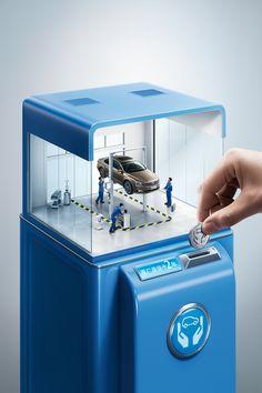 Volkswagen Extended warranty 2016 on Behance
