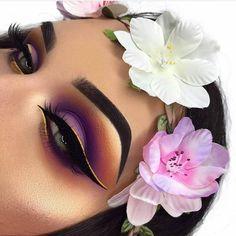 Perfect eyeshadow ideas, smoking eyes, dark eye make-up, colored li … – Tato… – Style fryzur Smoke Eye Makeup, Dramatic Eye Makeup, Bright Makeup, Colorful Eye Makeup, Eye Makeup Tips, Hair Makeup, Makeup Ideas, 80s Makeup, Witch Makeup