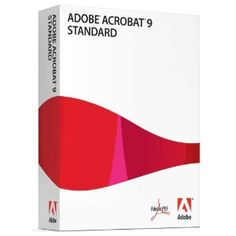 Adobe Acrobat Standard 9 [OLD VERSION]