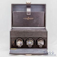 Ulysse Nardin Platinum Trilogy Men's Astrological Watches Limited Edition 26/100 #UlysseNardin #Luxury