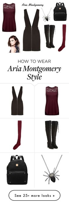 """""""Aria Montgomery"""" by realitybytes85 on Polyvore featuring Ami Sanzuri, Maje and Target Pll Outfits, Indie Outfits, Cute Outfits, Fashion Outfits, Pretty Little Liars Outfits, Pretty Little Lairs, Aria Style, My Style, Luci Hale"""