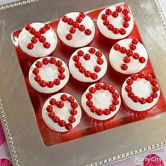 EASY cupcake decorations- even I might be able to do this