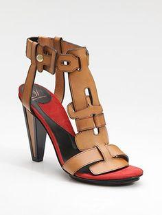 I love these sandals. Diane von Furstenberg Irene Sandals. $335.